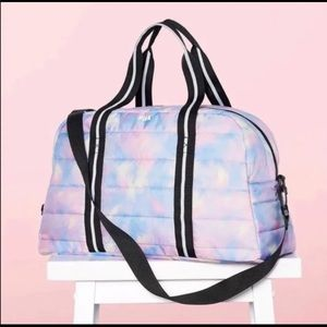 Victoria's Secret Quilted Duffle Bag